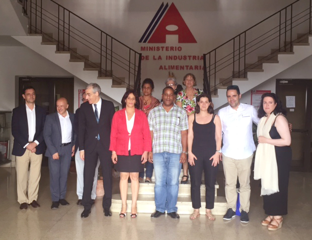 Kiwi Atlántico visita Cuba en misión empresarial representando al Clúster Agroalimentario de Galicia