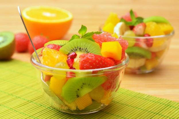 Meriendas saludables con fruta
