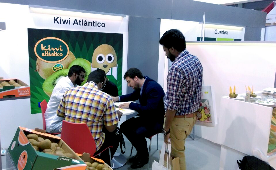 """Kiwi Atlántico presente en la """"Asia Fruit Logistica"""", de Hong Kong"""