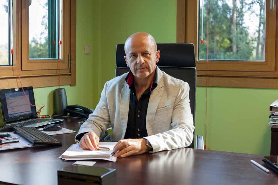 """José Carlos Vila: """"Crecemos bastante dende a crise porque hai máis demanda de produto propio e valorizouse"""""""