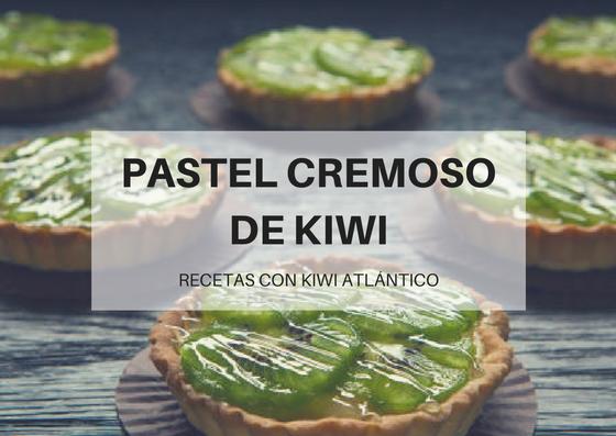 Pastel Cremoso De Kiwi Atlántico