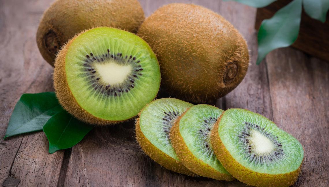 Potasio en el kiwi
