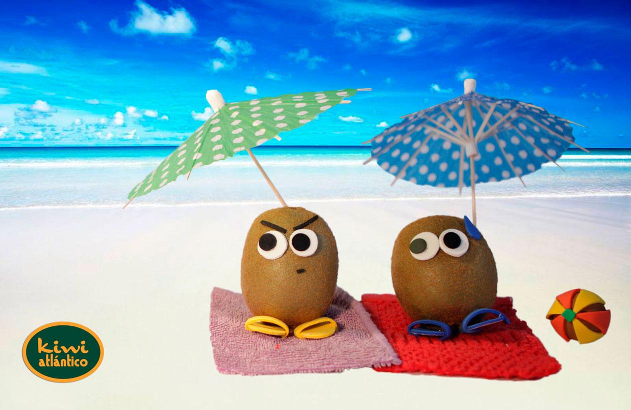 Kiwis playa