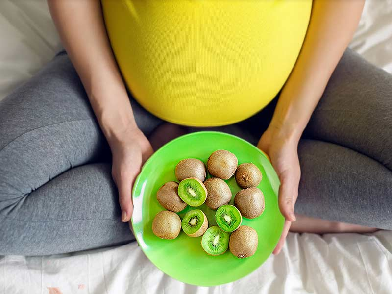 Kiwi embarazo