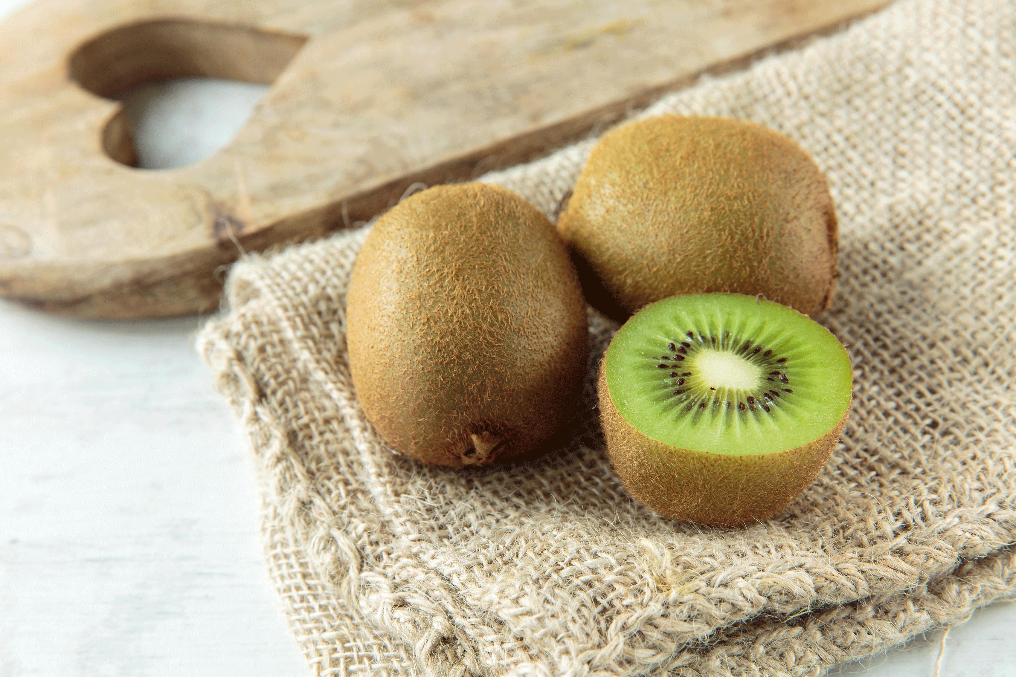 Propiedades del kiwi verde