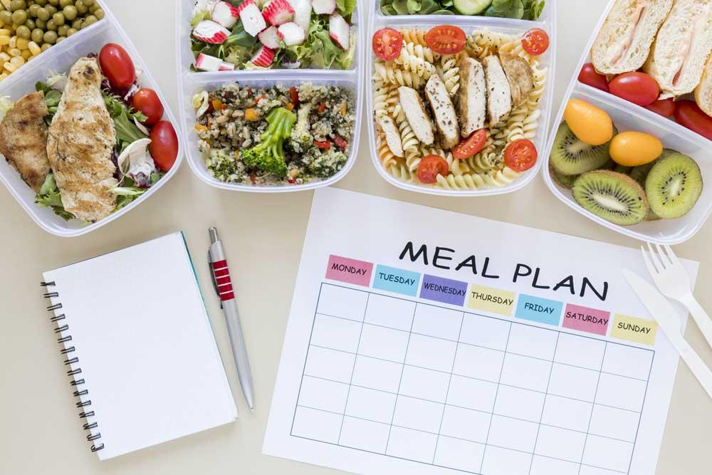 Organizar tu menú semanal