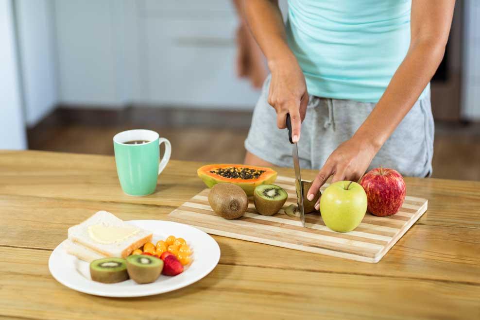 Dieta saludable confinamiento