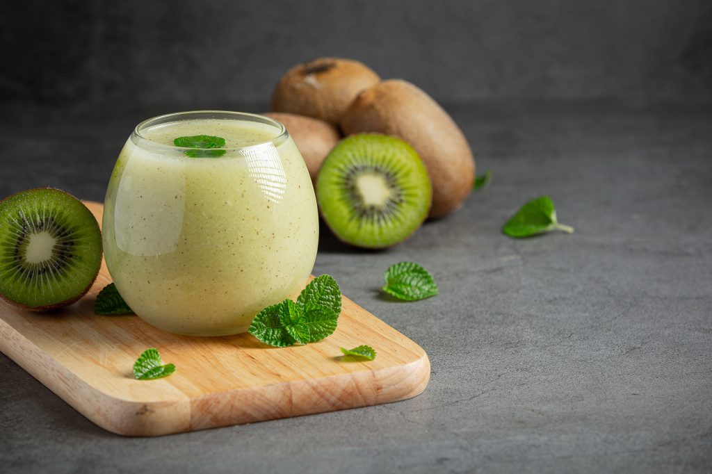 smoothies de kiwi