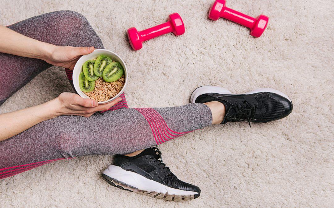 kiwi y ejercicio
