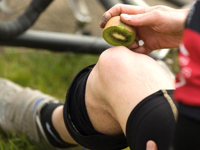 El kiwi, la fruta ideal para los futbolistas de nuestra Selección