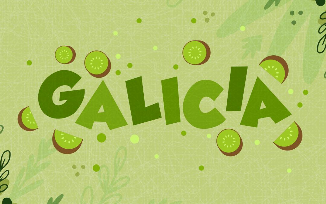 Día de Galicia. O kiwi e o sabor da terra verde